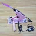 Adjustable Speeds Sex Machine Retractable Gun