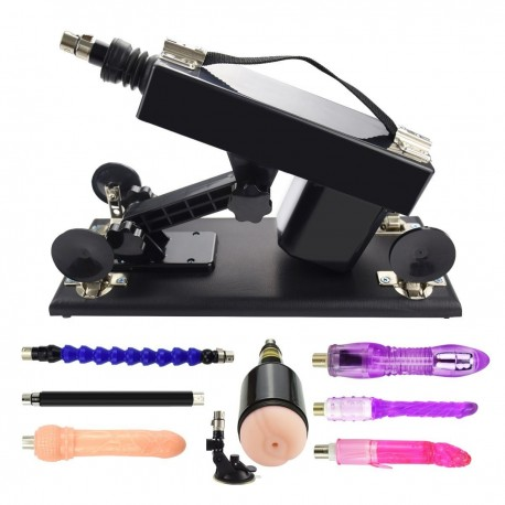 Female Masturbation Device Toy Vagina G-spot Fucking Machine Gun With Big Dildos