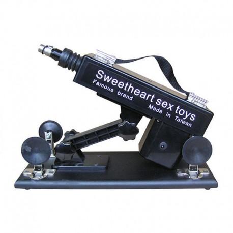 Automatic Sex Machine 6 cm Retractable Masturbation Machine with Suction Cup, Simulating Sexual Vibrator Sex Product